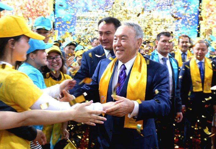 Нұрсұлтан Назарбаев жеңімпаздар форумына қатысты