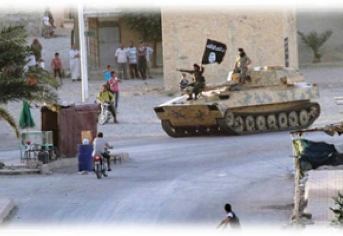 Вытеснение ИГИЛ из Кобани (Видео)