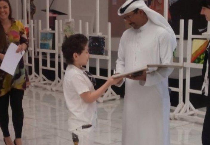 Еліміздің жеткіншегі Дубай шейхын тәнті етті