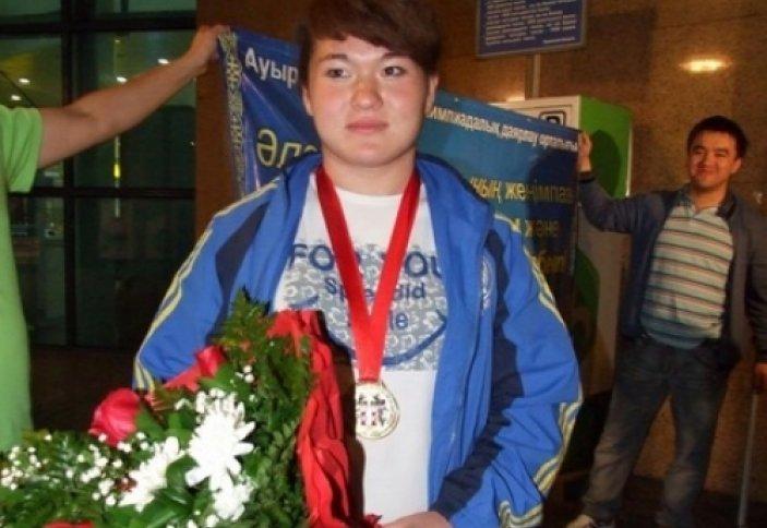 Қазақстандық зілтемірші әлем чемпионатында алтын алды