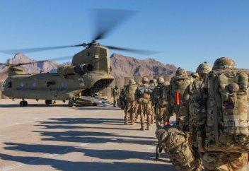 Ауғанстаннан НАТО әскерлері шығарыла бастады