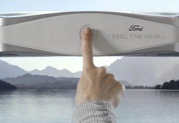 Ford запатентовал «умные» окна для своих машин (видео)