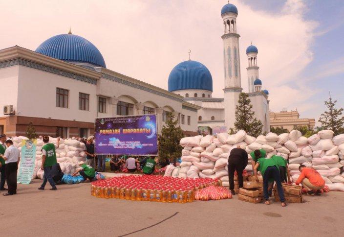 1000 отбасына арналған қайырымдылық Тараз қаласынан бастау алды (фото, видео)