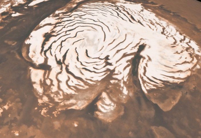 Ғарыш: Марстан 150 млрд шаршы метр мұз табылды