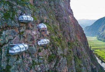 Отель на скале Skylodge (Фото)