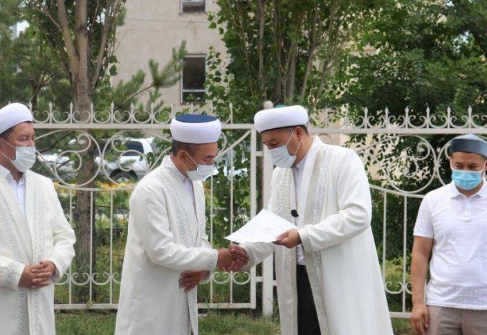Тараз қаласына жаңа бас имам тағайындалды