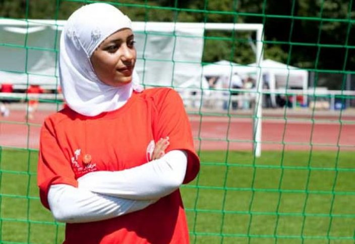 Австралия мұсылман әйелдері футболдан өнер көрсетеді