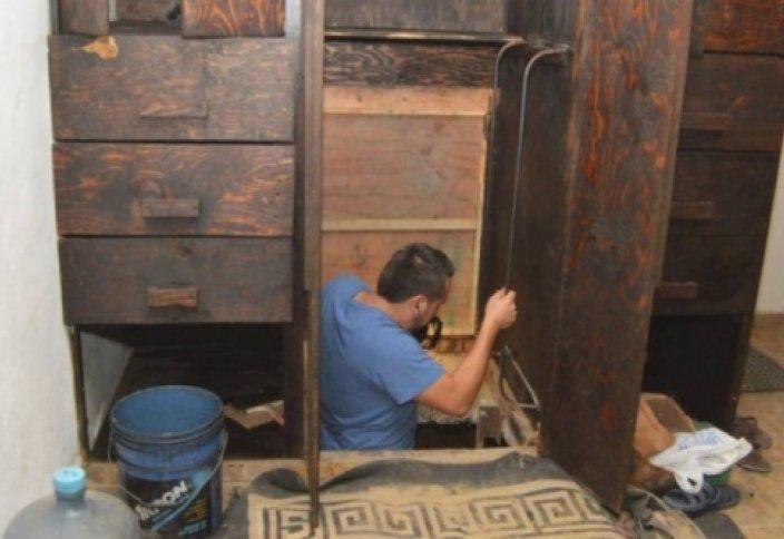 Мексикадағы шкафтан АҚШ-қа өтетін құпия үңгір табылды