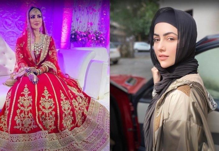Звезда Болливуда Сана Кхан приняла Ислам