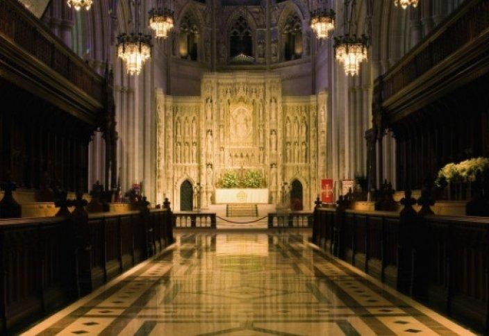 Намаз в американском соборе