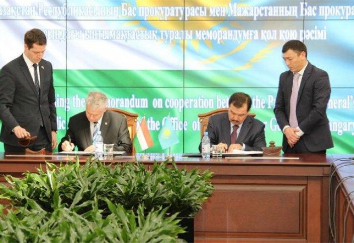 Казахстан + Венгрия = борьба с преступностью