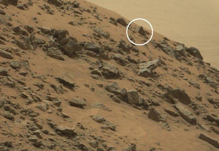 Пирамиды на Марсе – новое открытие марсохода (видео)