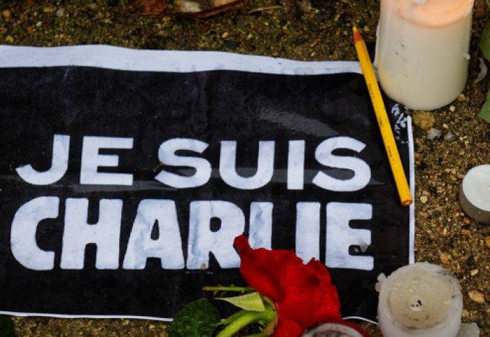Пророк Мухаммад с плакатом Je suis Charlie появится в Charlie Hebdo