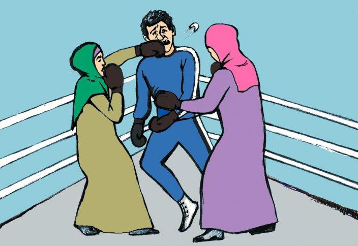 Муж вас не слушается? Может его побить?