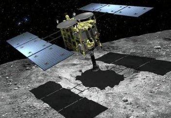 Жапондар ерледі: астероид бетінің видеосы