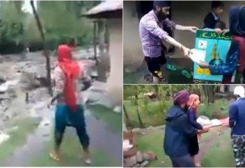 Сикхи и мусульмане продемонстрировали пример гармонии (Видео)