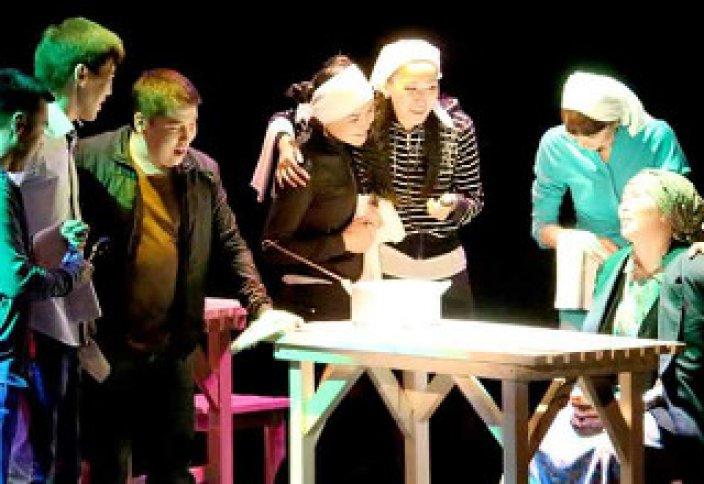 Премьера спектакля «Жаннат» на тему деструктивных религиозных течений прошла в Уральске