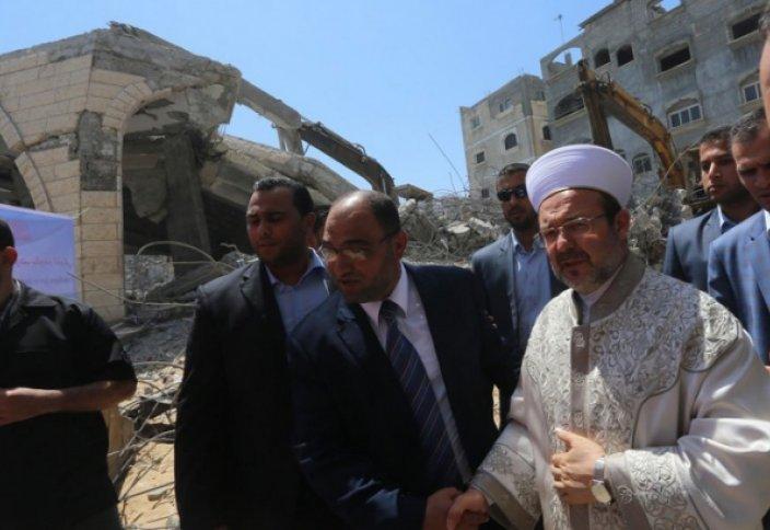 Разрушенные мечети Газы восстановит Турция