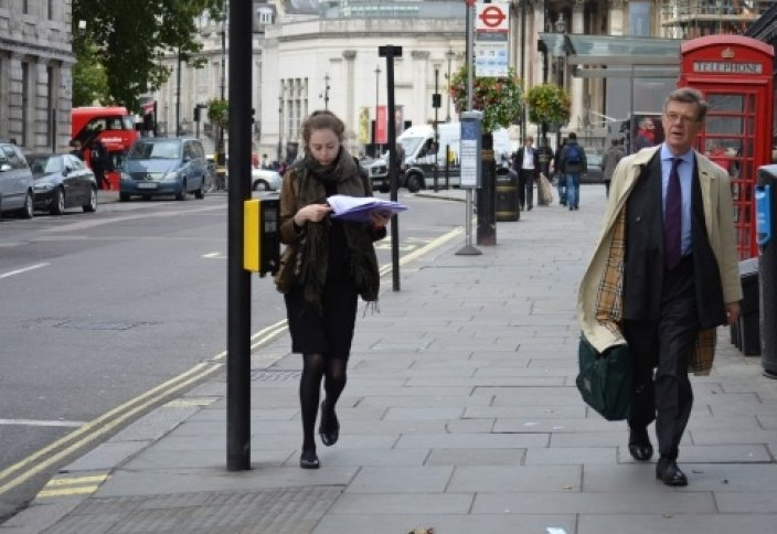 Прогулка по осеннему Лондону.
