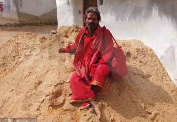 Бір тонна топырақ жеген адам тірі қалды (видео)