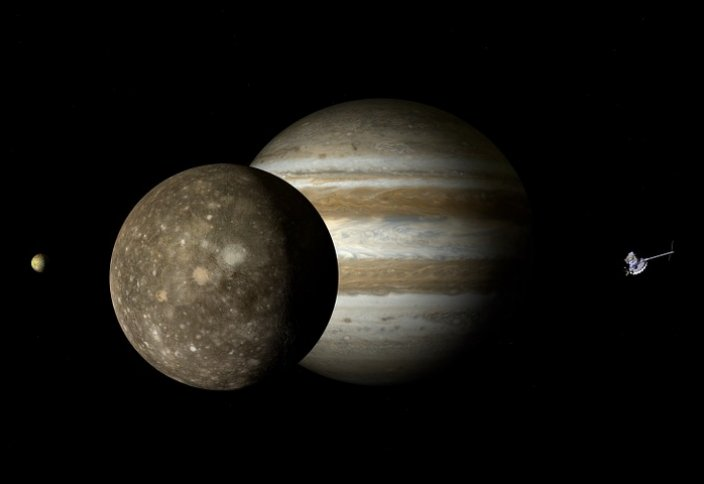 Ученые записали странные звуки, исходящие от спутника Юпитера