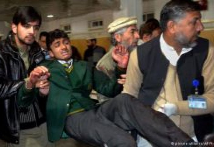 Нападение на школу в Пакистане…есть жертвы