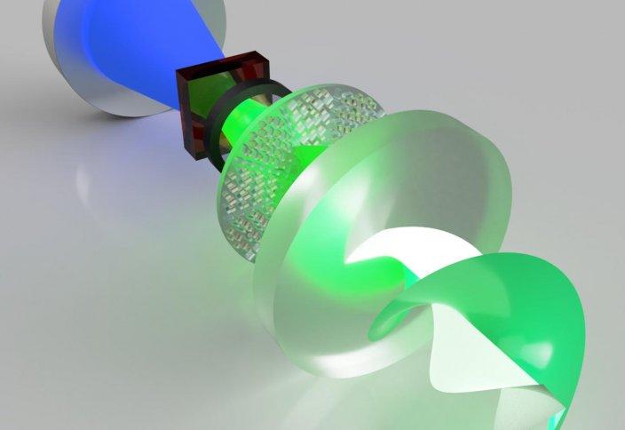 Разные: Создан лазер для оптических коммуникаций. Он сможет кодировать информацию