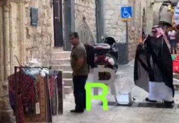Палестиналықтар саудиялықтарды Ақсадан түре қуды... (видео)