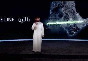 Арабияда машина жүрмейтін сызық қала салынады (видео)