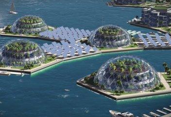Островок безопасности: Богачи захотели жить в плавучих городах. Это шанс спастись от чиновников и катастроф