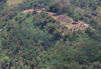 Гигантскую древнюю пирамиду обнаружили внутри горы в лесах Индонезии (фото)