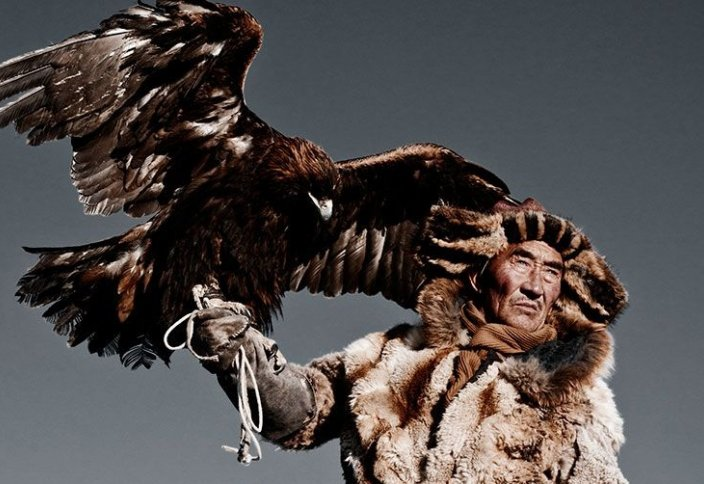 Саят. Традиционная казахская охота.