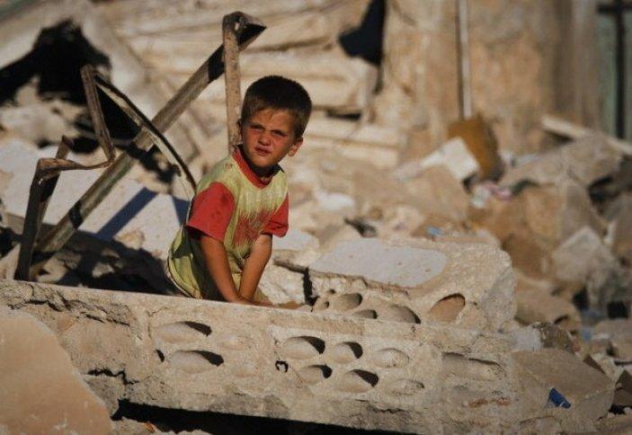 Сирияда жетім балалар көбеюде