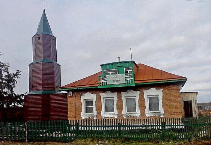 В Сибири у мечети появился минарет