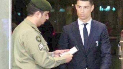 Саудовский пограничник заставил Криштиану Роналду напрячься