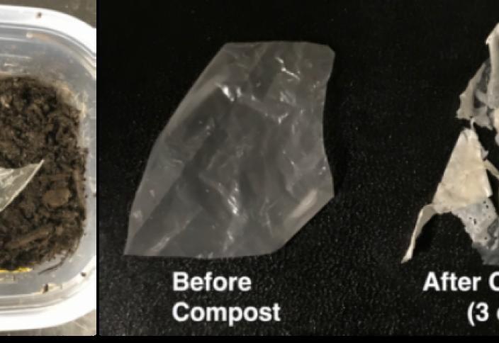 Суда іріп, ыдырап жоғалатын пластиктер