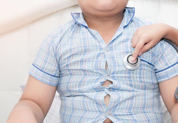 В Казахстане каждый десятый ребенок до пяти лет имеет избыточный вес