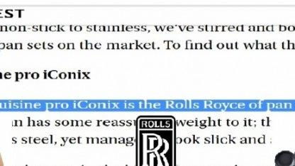 Rolls-Royce среди посуды или подарок для жены.