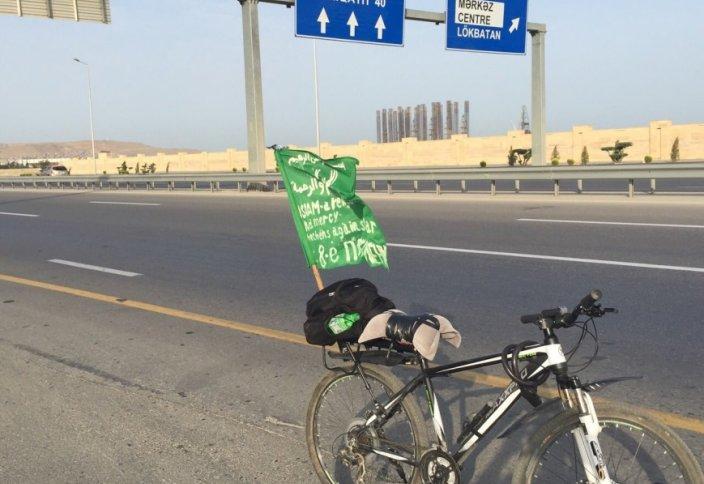В хадж на велосипеде