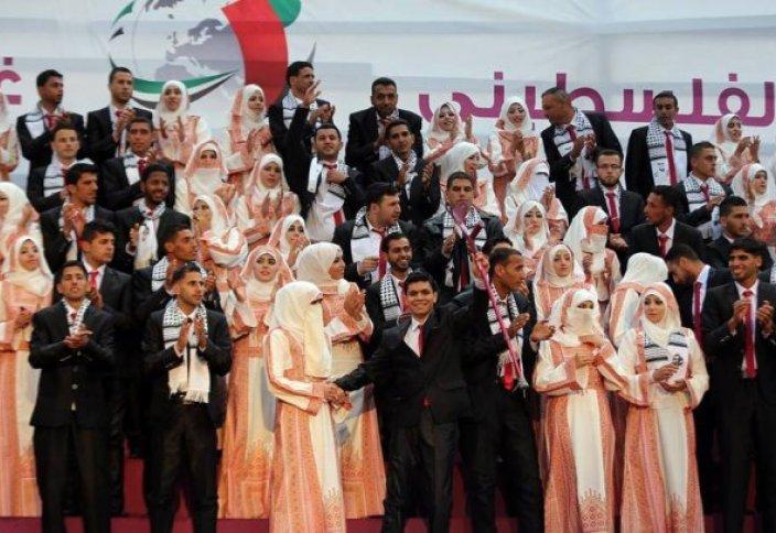 Сектор Газа продолжает жить: Коллективная свадебная церемония