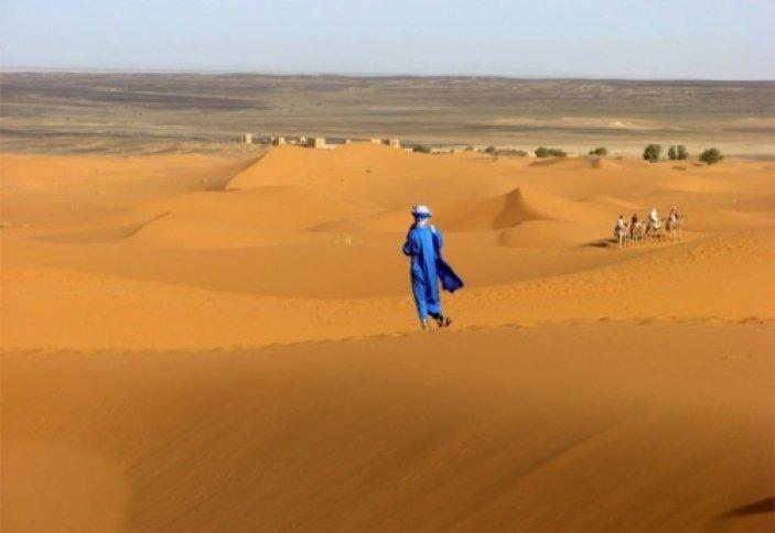 Сахара шөлінде өзен пайда болды