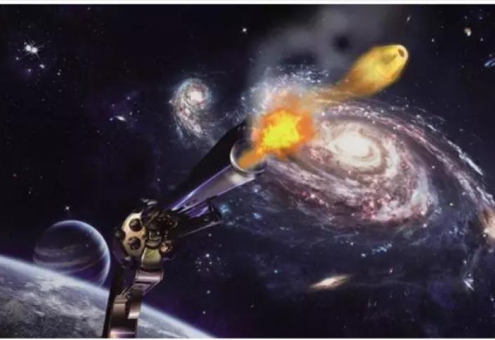 Егер ғарышқа оқ атылса, оқ қанша уақыт ұшады? Америкалық астронавттар жауап береді