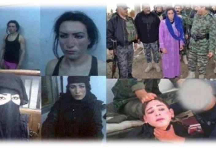 Боевики ИГИЛ спасаются от войны в женском обличье