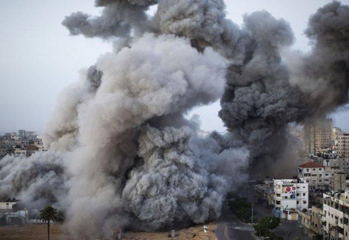 Израиль Газа секторында аурухана мен БҰҰ ғимаратын ойрандады