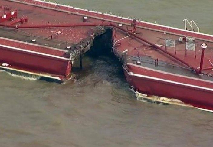 АҚШ-та тоғыз мың баррель мұнай теңізге төгілді (видео)