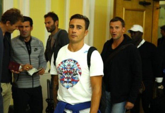 Әлемнің танымал футболшылары Алматыда жүр