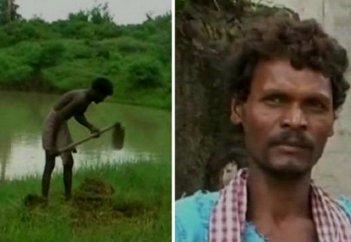 Человек, который 27 лет копал пруд, чтобы обеспечить деревню водой