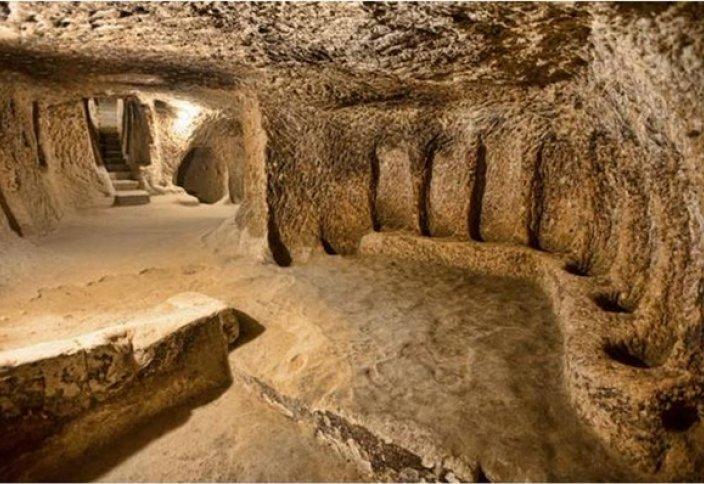 Древний подземный город обнаружен в Каппадокии