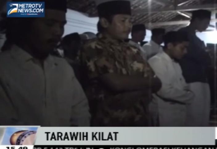 7-минутный таравих-намаз «взорвал» мусульманскую общественность (видео)