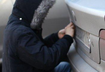 Украли автомобильные номера: что делать